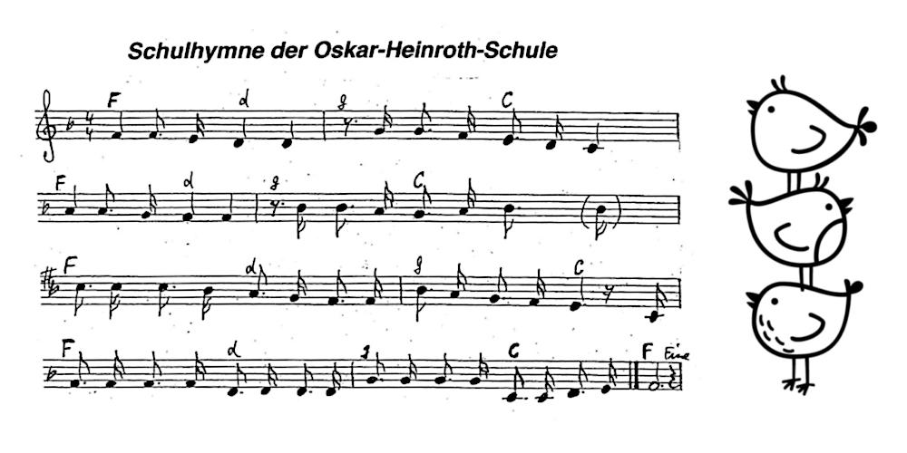 Oskar-Heinroth-Schule Hymne